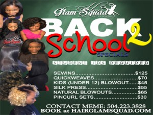 Back To School Hair Special